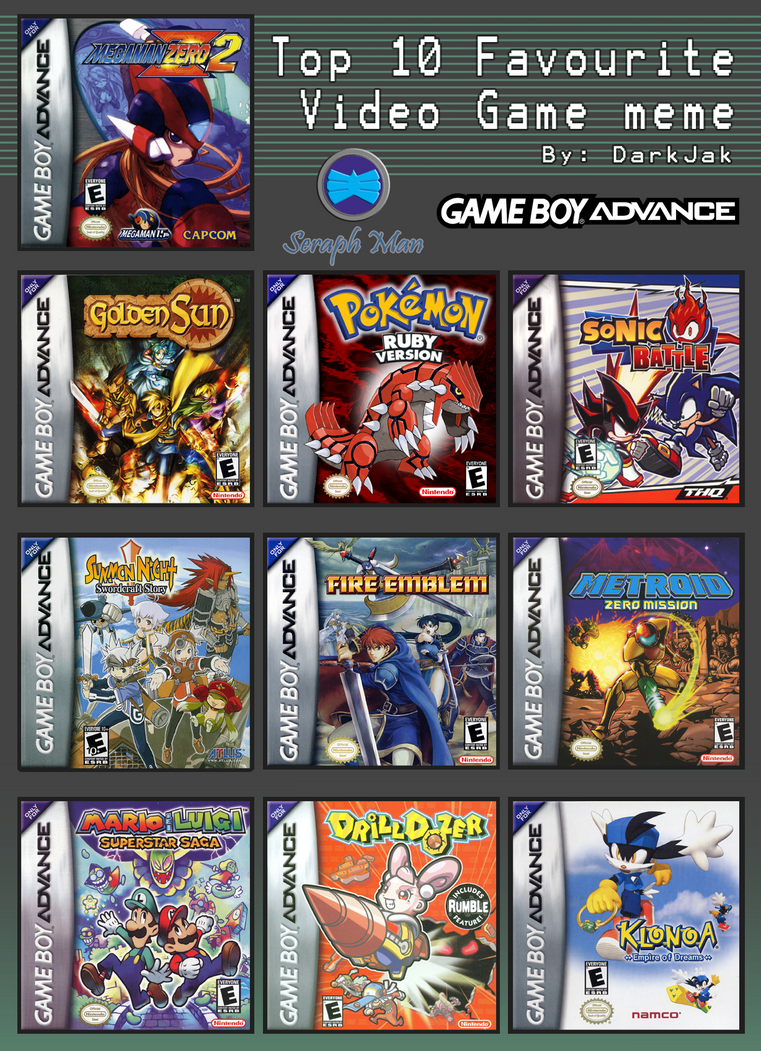 Game boy color list - Gameboy Color Games Pokemon Top 10 Gameboy Advance Games By Shadow Ice