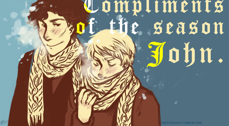 BBC-SH: Compliments of the Season John by Cardboardram