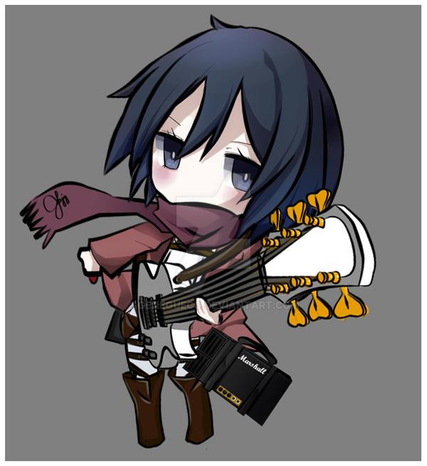 Mikasa by GeneGueco