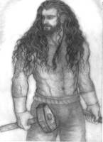 Thorin blacksmith by Marin1233