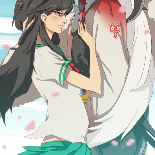 Kagome And Sesshomaru Cake Ideas Designs