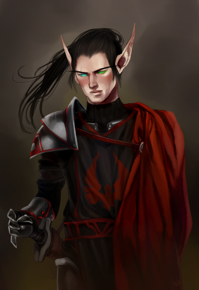 Commission: Arkell by ymstr