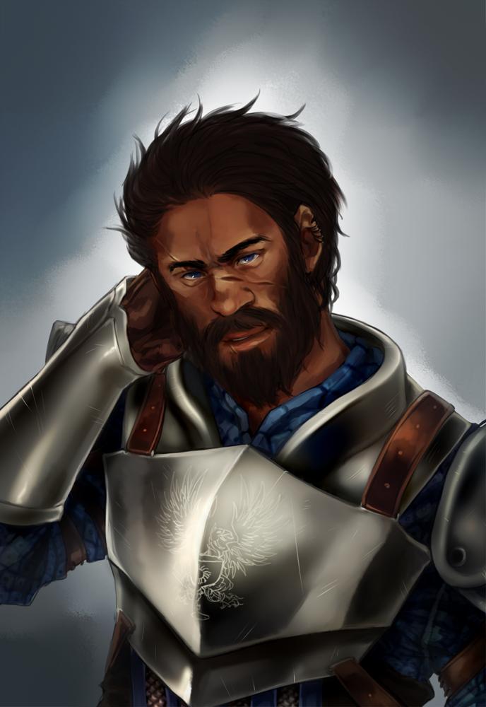 Aedan Cousland the Warden by ymstr