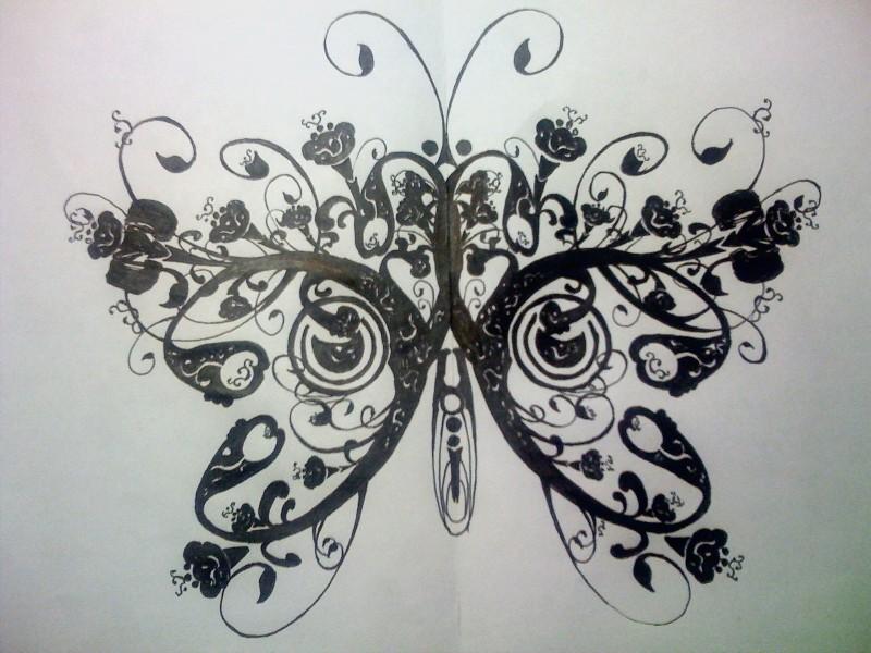 Butterfly by wipetty