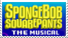 Spongebob Squarepants the Musical F2U stamp