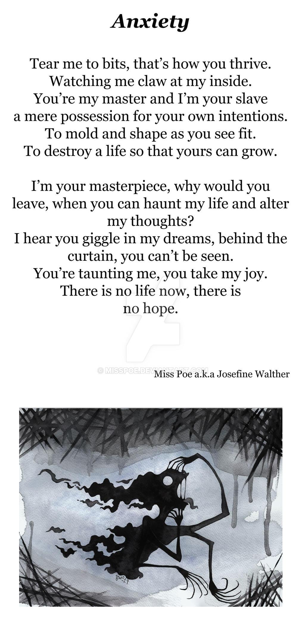 Anxiety - poem