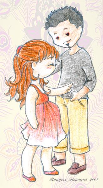 Chibi Tommy et Kim 11 by ranger-romance