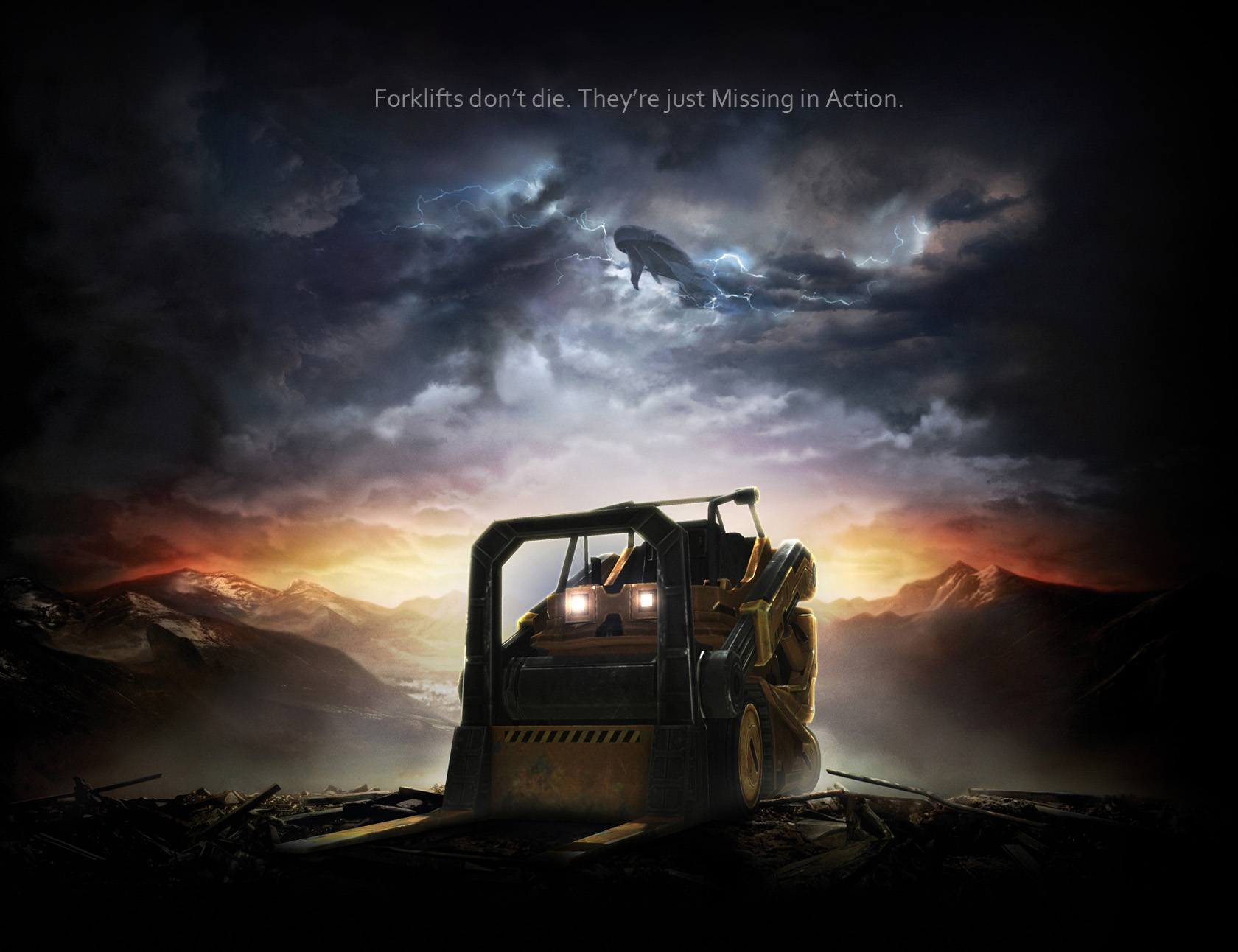 Halo Reach Forklift Wallpaper by Vengeance2010 on DeviantArt