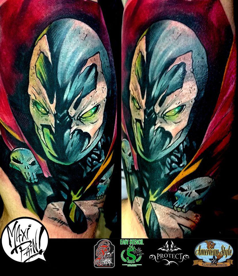 Maxipaintattoo maximiliano alcaraz deviantart for Description of tattoo pain