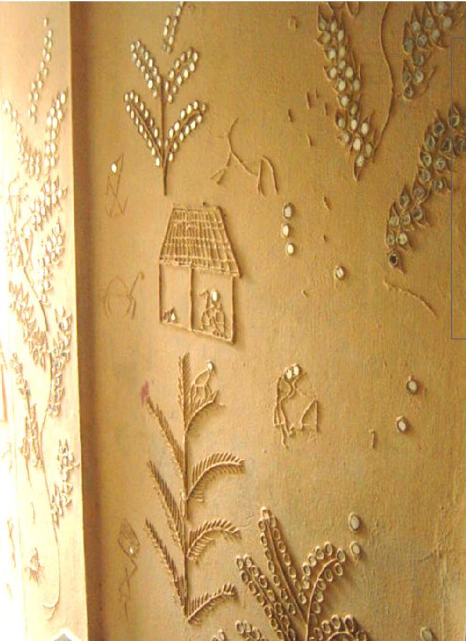 Wall art Plaster by Vermillioned on DeviantArt