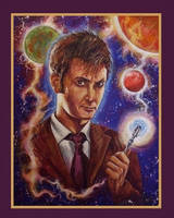 Doctor Who David Tennet by Gary-Mark-Lee