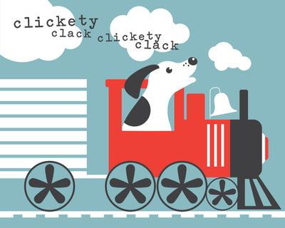 Puppy Train by olliesan