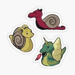 scp-111 Dragon-Snails