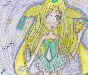 Pokemon Gijinka: Jirachi (Contest Entry) by Vatonageshipper4life