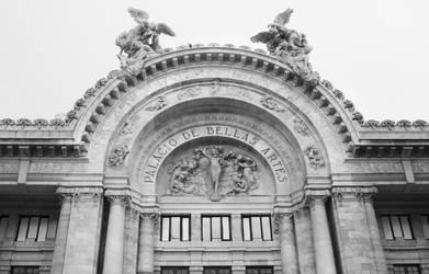 Bellas Artes entrance