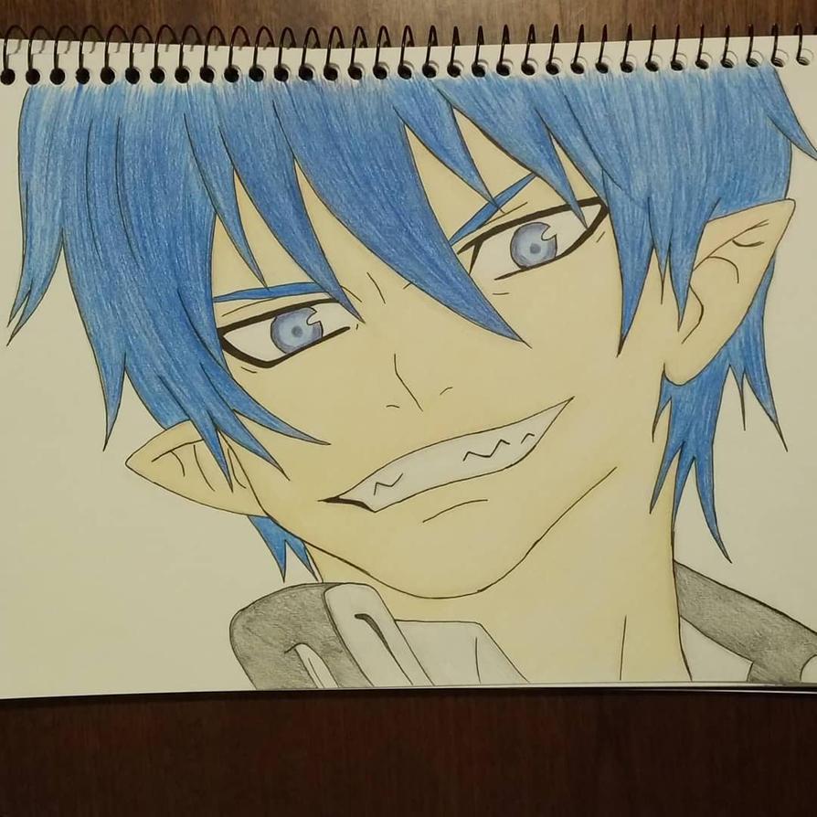 Rin Okumura from Blue Exorcist by EJArt93