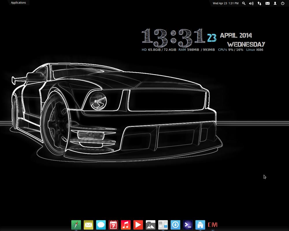 Elementary OS Desktop #1 by LazoBaa