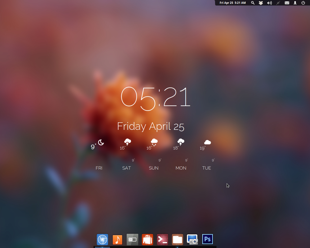 Elementary OS Desktop #3 by LazoBaa