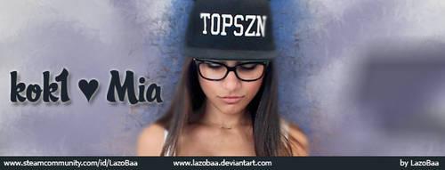 Mia for kok1 by LazoBaa