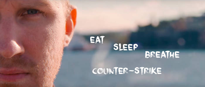 Olofmeister - eat sleep breathe counter-strike