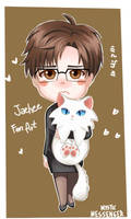 Jaehee Chibi Mystic Messnger fan art