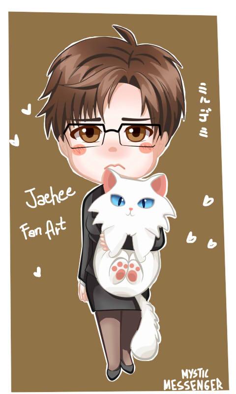 Jaehee Chibi Mystic Messnger fan art by Mildemme