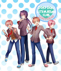 DokiDoki Literature Club Genderbend