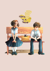 Storm In A Teacup (Webtoon) New Cover 2 by Mildemme