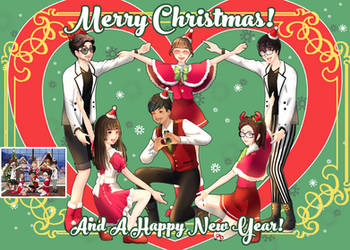 Zepeto Christmas Art by Mildemme