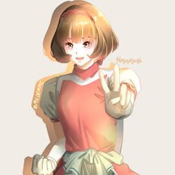 Nanami fan art (Suikoden 2) by Mildemme