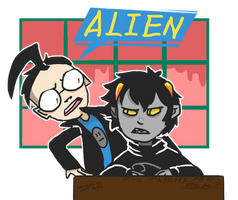 Karkat the Alien by zullyvantas