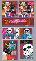 Oh yeah Papyrus by zullyvantas