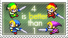4 is better than 1 -Ectoranium by Four-Swords-Fanclub