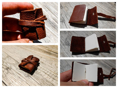 Tiny Leather Journal
