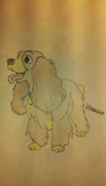 Happy Lady by Hannah29K9