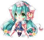 AT: Twintail cat +*