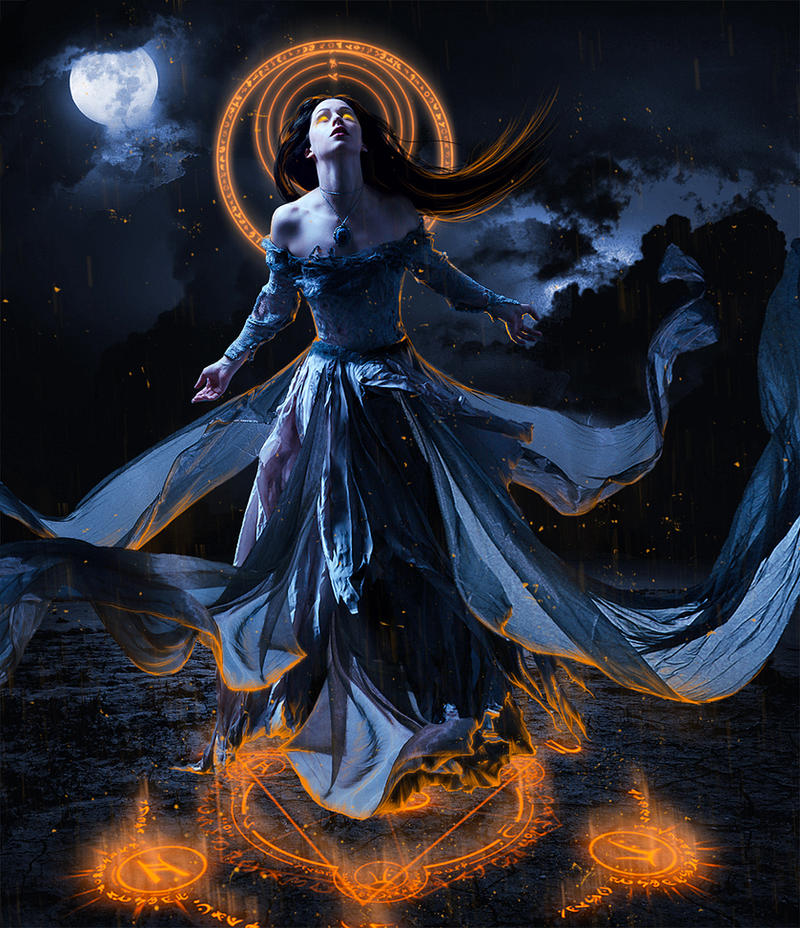 Dark Goddess by Daywishes