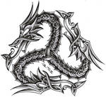 triskelion dragon