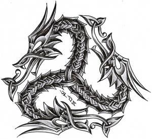 triskelion dragon