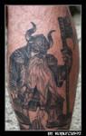 warhammer dwarf tattoo by roblfc1892