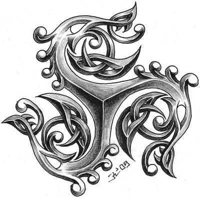 triskelion dragon 2 by roblfc1892