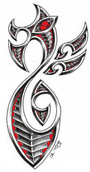 maori dragon by roblfc1892