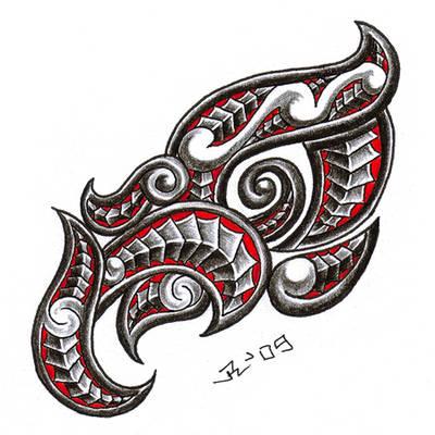 taniwha - maori dragon by roblfc1892