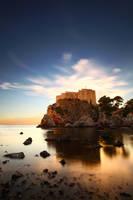 ...lovrijenac at sunset... by roblfc1892