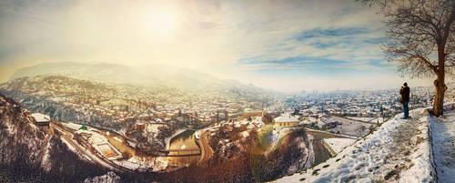 ...panorama of sarajevo...