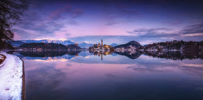 ...panorama of bled I...