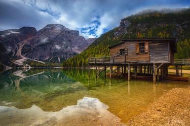 ...lago di braies IV... by roblfc1892