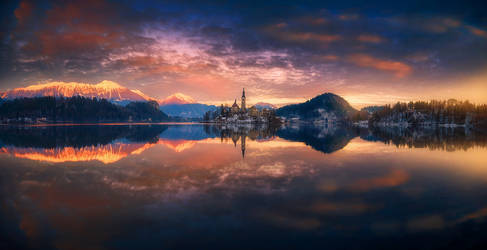 panorama of bled II