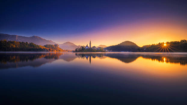 Bled In The Morning