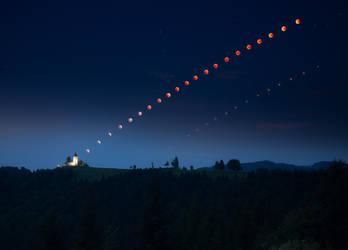 jamnik - lunar eclipse by roblfc1892